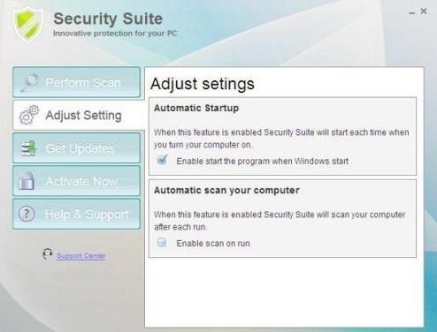 Security Suite Virus
