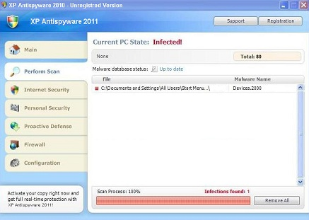 xp antispyware 2011