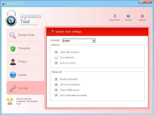 System Tool (SystemTool) Virus